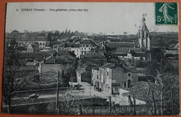 -CIVRAY-Vue Générale,prise Coté Est - Civray