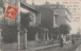 CPA [34] Hérault > Beziers - Rue Estrabaut - Animée - Vélo - Beziers