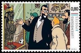 Timbre Privé** - Kuifje / Tintin - Milou / Bobbie - Haddock - Les 7 Boules De Cristal / De 7 Kristallen Bollen (p.28) - Autres