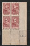 ///  FRANCE  //// Coin Daté  ZONE FRANCAISE --  BRIEFPOST  ** - 1940-1949