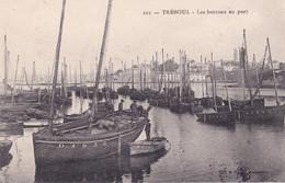 TREBOUL (Finistère)  - Les Bateaux Au Port - Tréboul