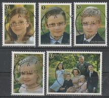 4569/4573 La Famille Royal /Koninklijke Familie Oblit/gestp Centrale - Used Stamps