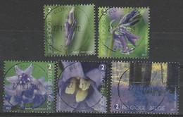 4672/4676 Les Jacinthés Des Bois/Boshyacinten Oblit/gest Centrale - Used Stamps