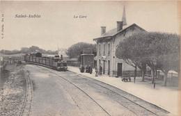 SAINT AUBIN - La Gare - Train - Andere Gemeenten