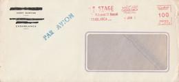 MAROC EMA SUR LETTRE POUR LA FRANCE 1971 - Morocco (1956-...)