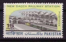 Pakistan 1969 - MNH ** - Gares Ferroviaires - Michel Nr. 273 Série Complète (pak027) - Pakistan