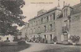 Deux-Sèvres.  Château De Griffier, Près Niort. - Otros Municipios