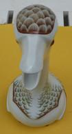 RARE ! CARAFE Porcelaine, OIE, ARMAGNAC CHABOT - HAVILAND - EX N° 14033/16000 Ex. - Carafes