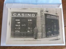 Haute-Loire, Brioude, Carte-photo Casino, Tabac. - Brioude