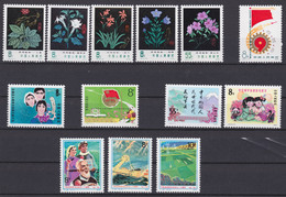 CHINA 1978, Nice Lot Unmounted Mint, Incl. J29-J32, J34, T30, All In Superb Condition - Lots & Serien