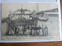 Taourirt, France Au Maroc Oriental, Décoration Du Parc De La Manutention Pour Le 14 Juillet - Other