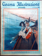 Cinema Illustrazione 24 Giugno 1931 Svengali Crawford Lupe Velez Gelosia Arthur - Cinéma