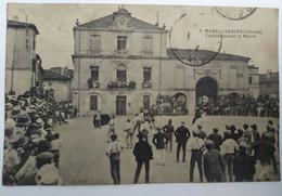 CPA  MARSILLARGUES (34) - Course Devant La Mairie - Phototypie Bardou - BE BE - Other Municipalities