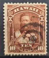 HAWAII 1884 - Canceled - Sc# 44 - 10c - Hawaï