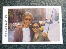 TRADE CARD -  JOHN AND YOKO  D-0887 - Ohne Zuordnung