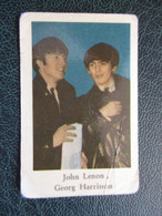 TRADE CARD -  JOHN LENNON - GEORG HARRISON  D-0887 - Ohne Zuordnung