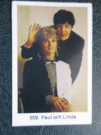 TRADE CARD -  PAUL AND LINDA  D-0887 - Ohne Zuordnung