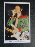 TRADE CARD -  PAUL MC CARTNEY  D-0887 - Ohne Zuordnung