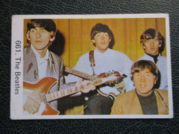 TRADE CARD -  THE BEATLES  D-0887 - Ohne Zuordnung