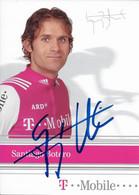 CARTE DU CYCLISME SANTIAGO BOTERO SIGNEE TEAM T - MOBILE 2004 - Cycling