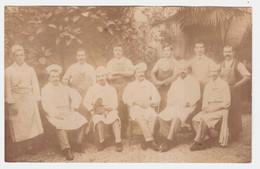 CPA ALPES MARITIMES.MENTON.AU DOS,ANATOLE ET SON SINGE MENTON 1908 - Menton