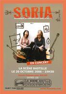 A233 / 019 SORIA - Zangers En Musicus