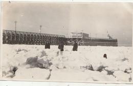 Blankenberge - Pier - Winter Februari 1929 - Foto 6.5 X 1.05 - Foto Ides-Louwage - Lugares