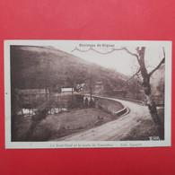Environs De Rignac - Le Pont-Neuf Et Le Route De Naucelles - Autres Communes