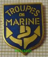 TROUPES DE MARINE  ANCRE En Version EGF - Militaria