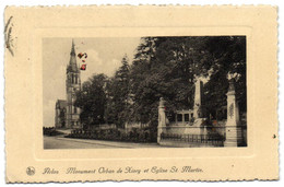 Arlon - Monument Orban De Xivry Et Eglise St. Martin - Arlon