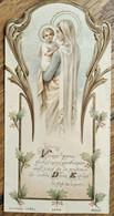 Image Pieuse  Vierge Marie - Ed. BOUASSE - TBE - Andachtsbilder