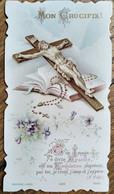 Image Pieuse  JÉSUS - Mon Crucifix !   Prière -  Ed. BOUASSE - TBE - Andachtsbilder
