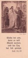 Souvenir De Confirmation - Années 50 - Protestantisme - En Langue Allemande - Extrait Evangile - Imágenes Religiosas