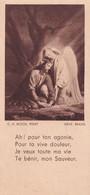 Souvenir De Confirmation - Années 50 - Ah! Par Ton Agonie  ...- Editions Oberlin Strasbourg - Imágenes Religiosas