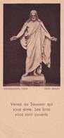 Souvenir De Confirmation - Années 50 - Venez Au Sauveur ... - Editions Oberlin Strasbourg - Imágenes Religiosas