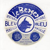 Aot21  10015     étiquette De  Fromage   Le Bergé - Cheese