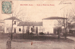 BELVEZE. ECOLE ET HOTEL DES POSTES. ANIMATION . DEPART 0.90€. - Other Municipalities