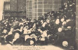 H1608 - 27e Jubilé De Notre Dame Du PUY - D43 - L' Assaut De La Cathédrale Par Les Pèlerins - Le Puy En Velay