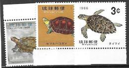 Ryu Kyu Turtle Set Mnh ** 1965 - Autres - Asie
