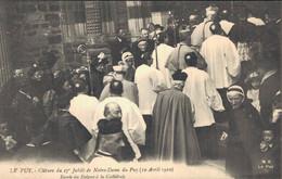 H1608 - Clôture Du 27e Jubilé De Notre Dame Du PUY - D43 - Entrée Des Evêques à La Cathédrale - Le Puy En Velay