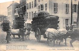 PAU - Arrivée Du Charbon De Bois - Très Bon état - Pau