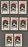 United States - Scott #1373 Used - 8 Different (1) - Plate Blocks & Sheetlets
