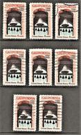 United States - Scott #1373 Used - 8 Different (2) - Plate Blocks & Sheetlets