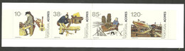 Portugal 1992 - Azores Typical Jobs Booklet MNH - Booklets