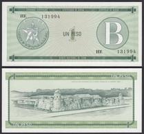 Kuba - Cuba 1 Peso Foreign Exchange Certificates 1985 Pick FX6 UNC (1)  (25713 - Other - America