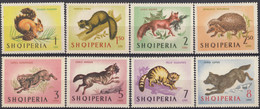 ALBANIA - 1964- Serie Completa Nuova MNH: Yvert 677/684, 8 Valori. - Albanie
