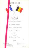 Menu - Norlosar - Ostende La Réserve 1960 - Oostende Hotel Palais Des Thermes - Menus
