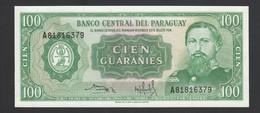 ♛ PARAGUAY - 100 Guaranies L.25.03.1952 (1982) UNC P.205 (3) - Paraguay