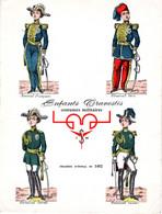 Planche Costumes Militaires (pub Tréphonyl Be - Other