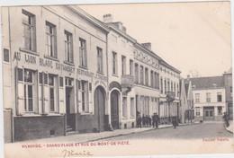 Vilvoorde - Bergstraat (gelopen Kaart Van Voor 1900 Met Zegel) - Vilvoorde